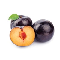 Plums Black Large- min 500g
